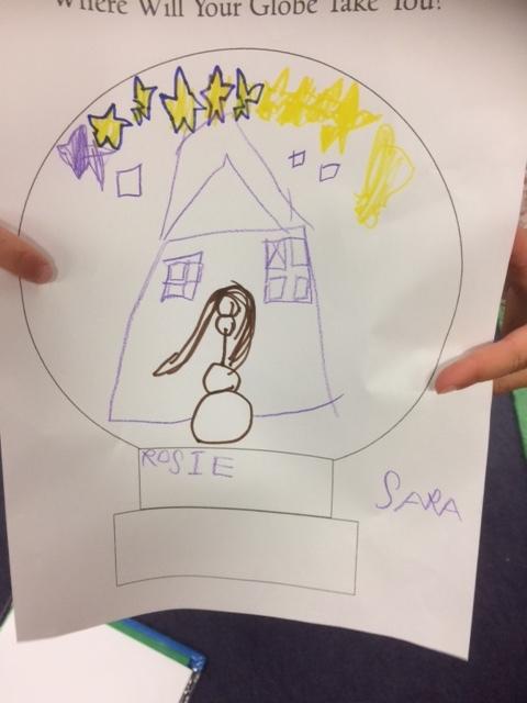 Sara, aged 6