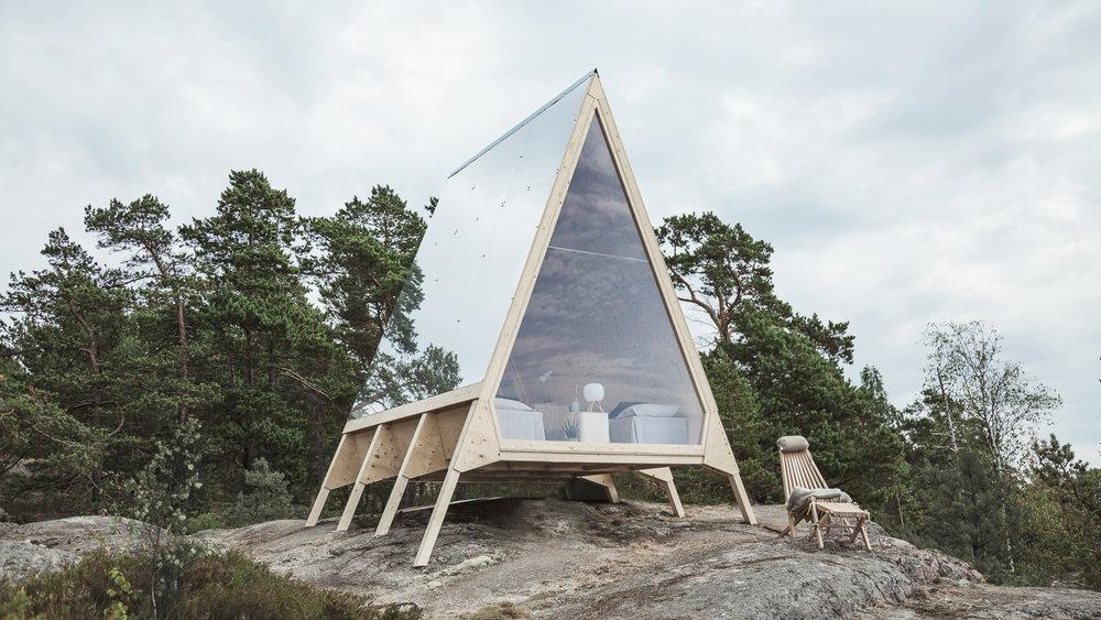 3D modelling/Rendering: Neste Nolla Cabin. Designer: Robin Falck