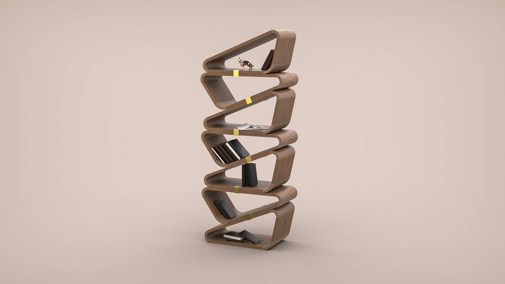 Product Design: Bookshelf Concept Design
