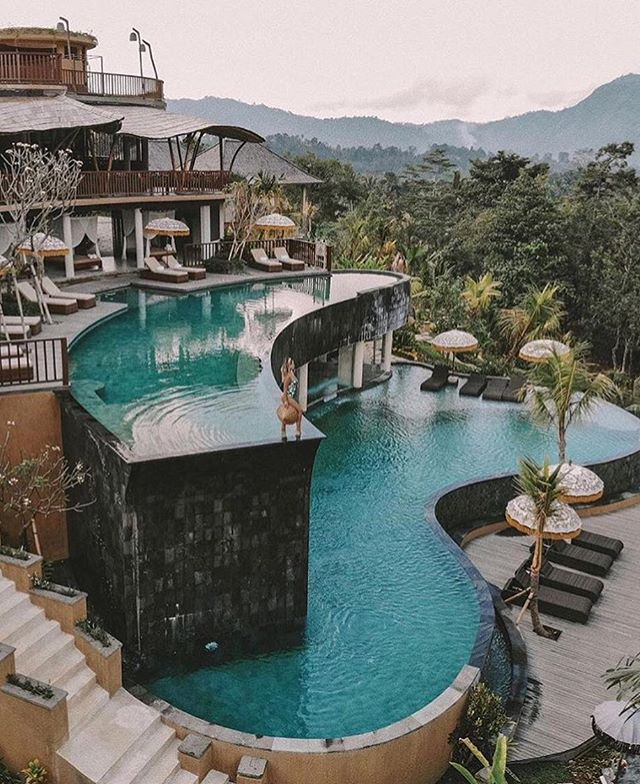 Serenity in Bali - Indonesia | Tag someone who would love this 👇 Photo @micheli_fernandes @the_luxury_life