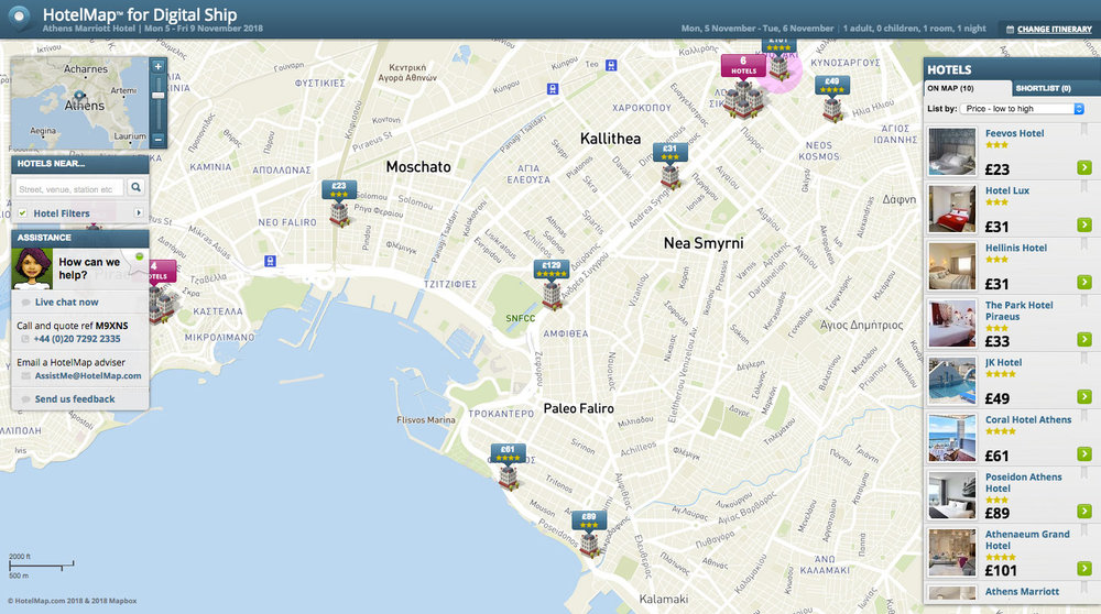 CLICK HERE FOR HOTELMAP