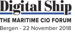 Digital Ship The Maritime CIO Forum Bergen - 22 November 2018