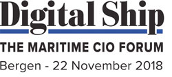 Digital Ship The Maritime CIO Forum Bergen - 22 November 2018