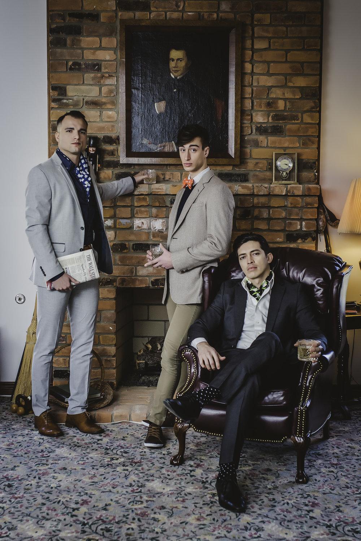 Models:Benjamin Casaceli, Alexander Kepreos & Marko Carrillo