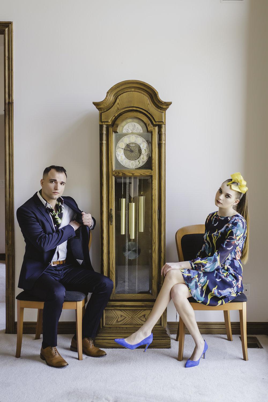 Models: Benjamin Casaceli &Lia Morse  Womens Apparel:L.K. Bennett