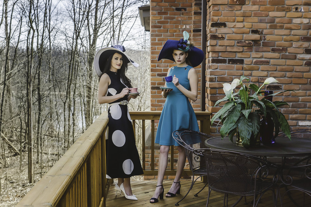 Models: Marinella MG & Lia Morse Womens Apparel: L.K. Bennett