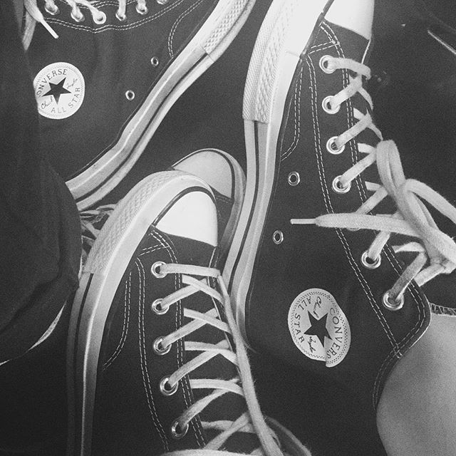 It's a Converse day @converse