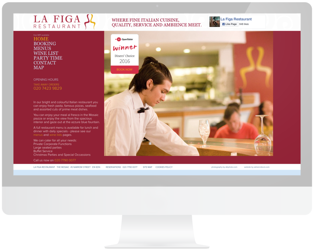 La-Figa-Restaurant-website-design
