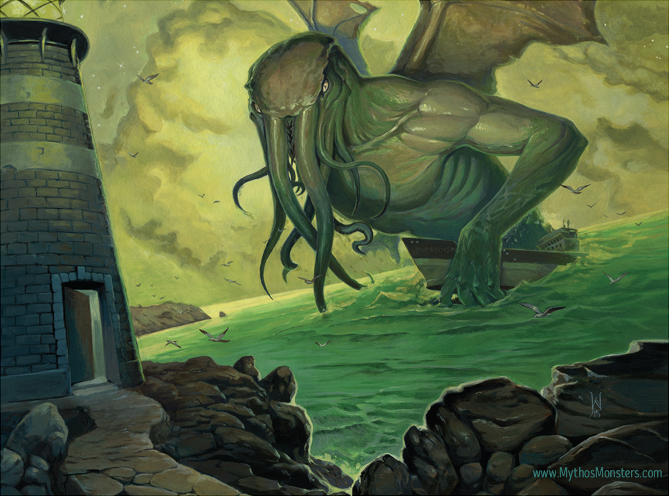 Cthulhu Tide © Jacob Walker. Limited licensing rights available.