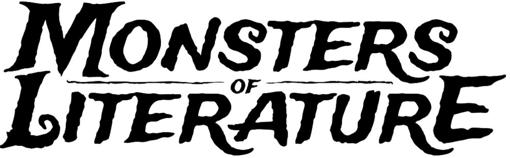 Monsters of Literature Adult Coloring Book