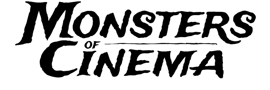 Monsters of Cinema Adult Coloring Book