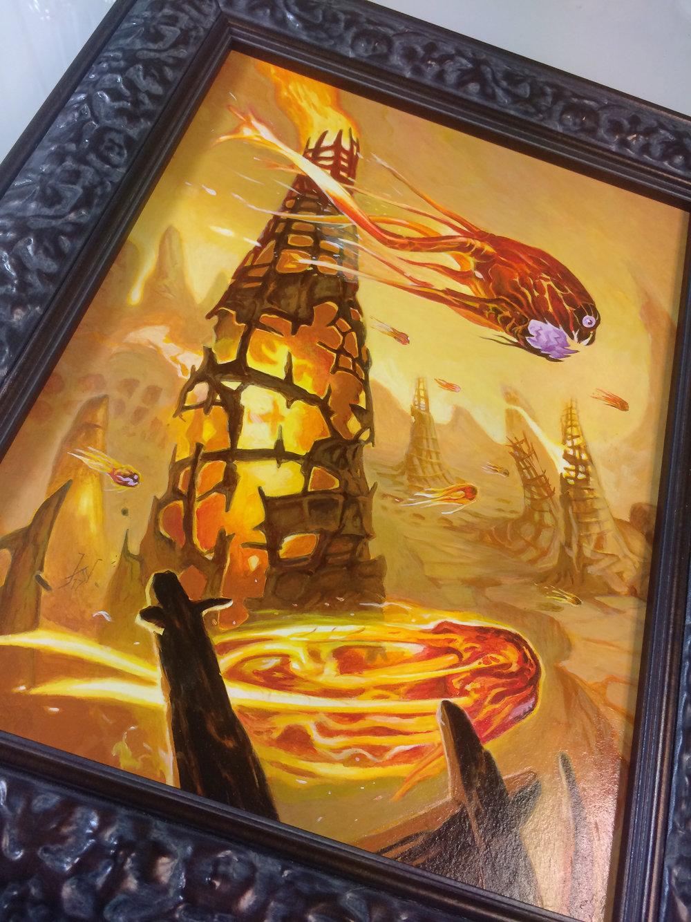 Fire Vampire detail