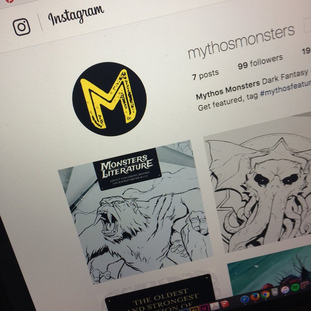 mythos monsters instagram