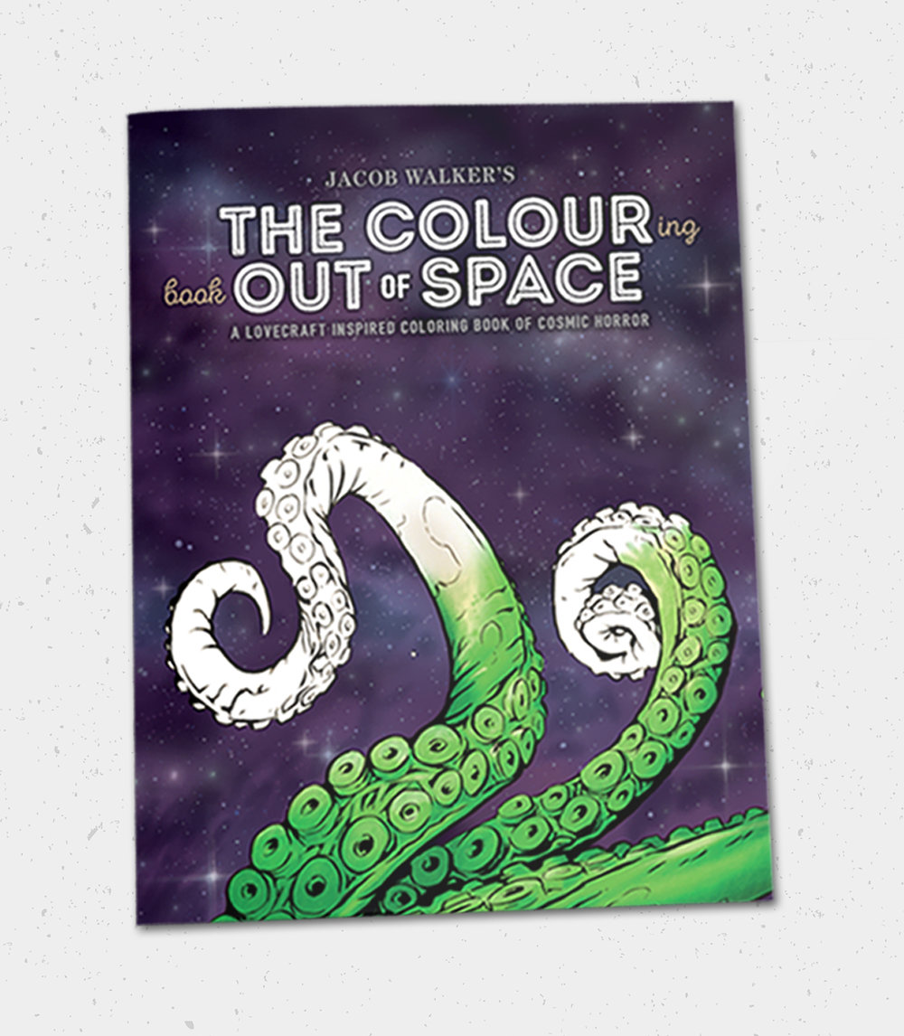 $15  The Colouring Book Out of Space Deluxe Limited Edition