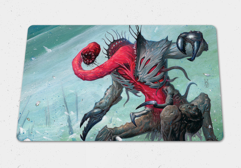 $30  Nyarlathotep, the Bloody Tongue Gaming Playmat