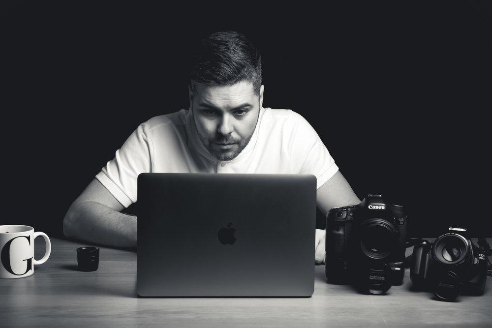 Graeme James Photography creative portraits