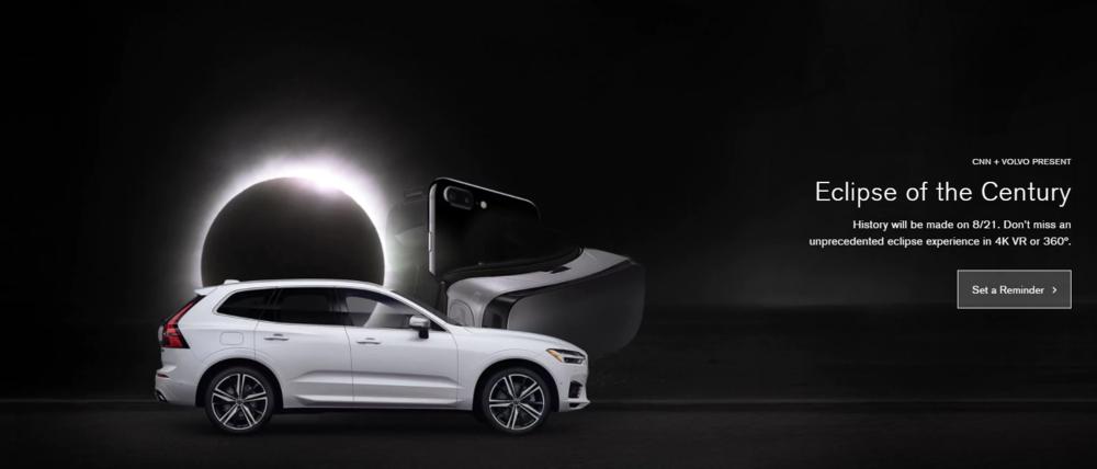 ڤولڤو و سي إن إن - الواقع الإفتراضي - سباق مع الشمس - الماركتر