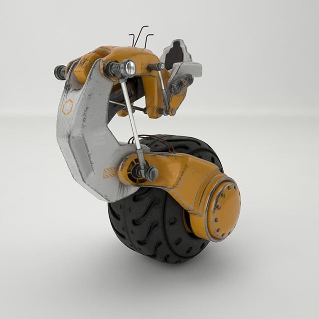 Concept one wheel vehicle.  modeling in cinema 4d, uvs unwrapped in 3d coat and texture in substance painter.  #3dart  #justmad #substance #substancepainter #type #conceptart #3d #cinema4d #graphicdesigner #concept #3dgallery #3d #cinema4d #environment #environmentalscience #tunnel #conceptualphotography #graphicdesign #designseries #design #typetopia #3dgallery #design by @simon_design