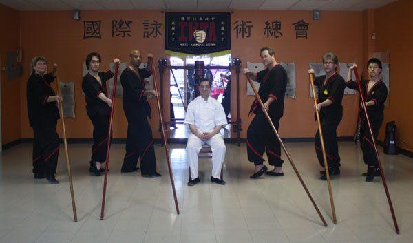 """Ist es moeglich, dass ich die fortgegschrittenen Langstock Techniken von Herr Leung gelernt habe - mit nur """"eine Woche"""" Unterricht von ihm?"""