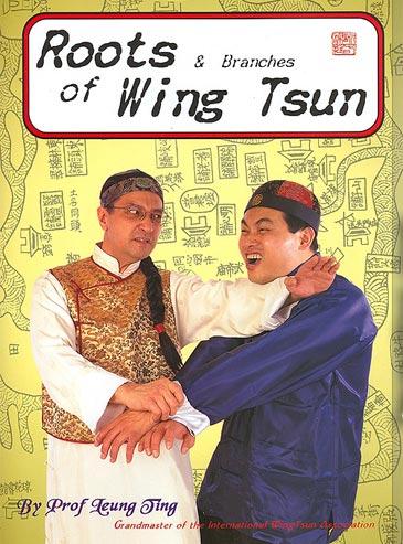 """Das urspruengliche """"Roots of Wing Tsun"""" mit dem """"Rebell"""" Sifu Carson Lau auf dem Cover. Sifu Lau wurde auch einige Male im Buch selbst als Vorfuehrer gezeigt."""