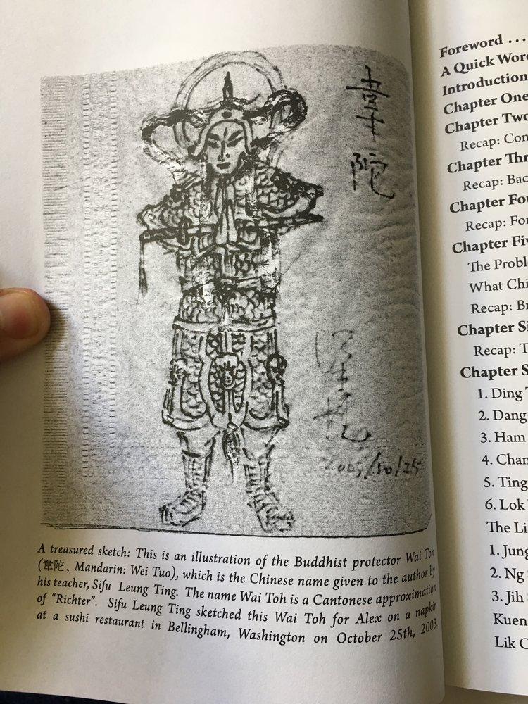 """Ihr koennt mal raten, wer mir den Chinesischen Namen """"Wai Toh"""" gab. Von meinem Buch,  The Little Idea."""