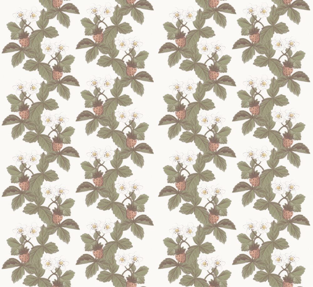 Strawberry Repeat Pattern