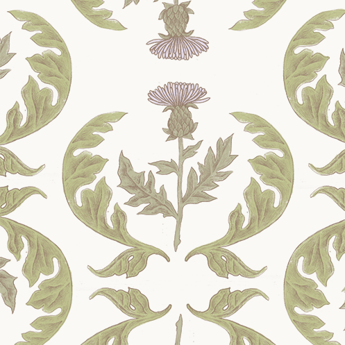 Thistle Repeat Pattern