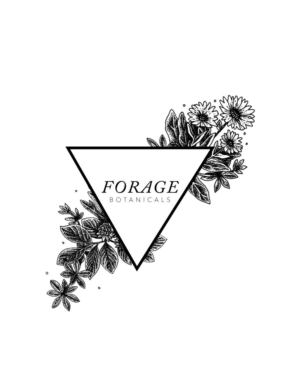 Forage Botanical Logo