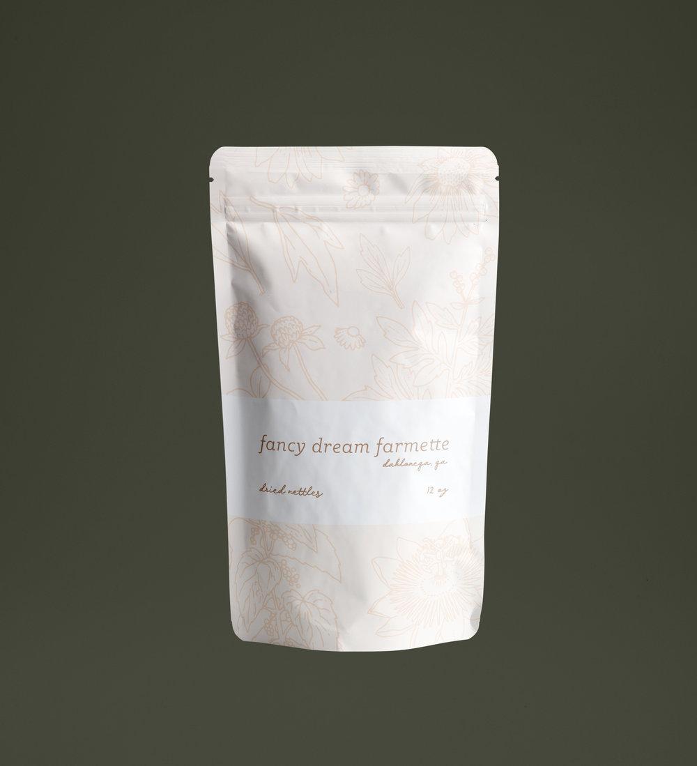 Fancy Dream Farmette package design.