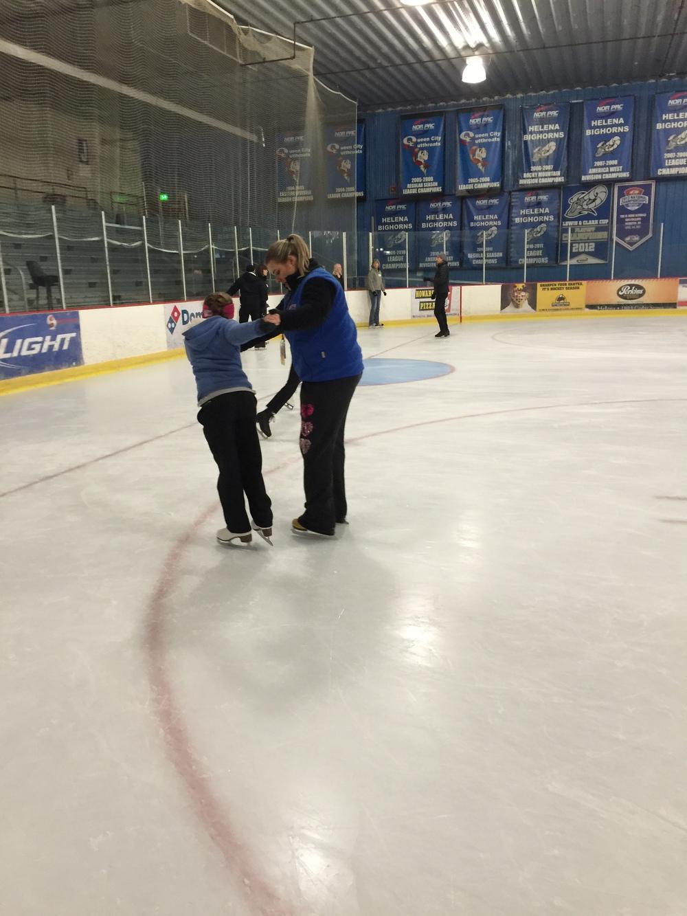 Freeskate 1 skater