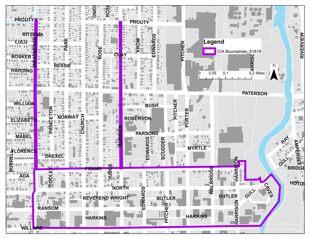 Northside Cultural Business District Authority Proposed Area
