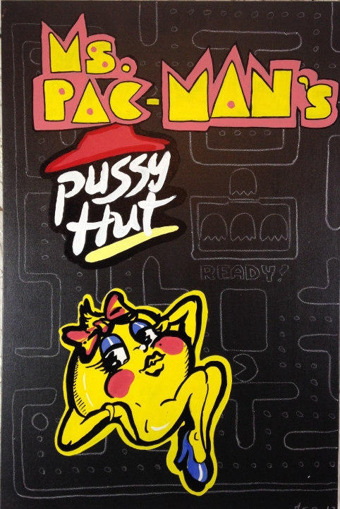 Ms. Pac-Man's Pussy Hut by David Craig Ellis