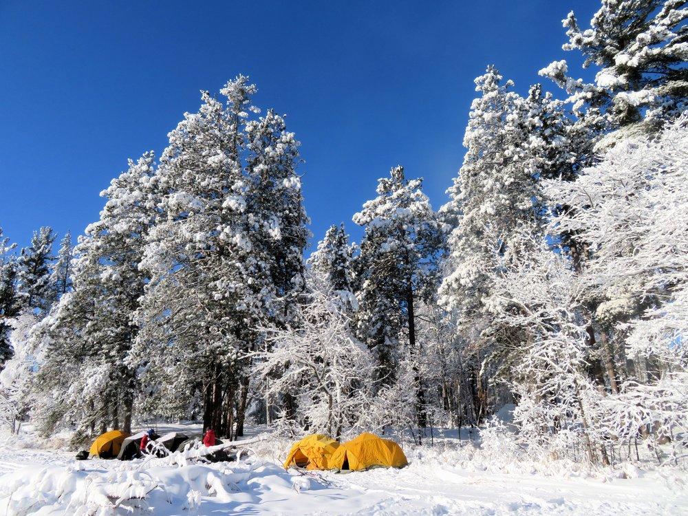 Houghton winter camp.