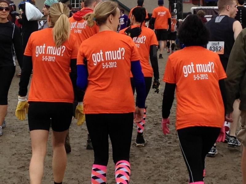 "5623662e ""Brewster Screen Printing did a great job on our Tough Mudder team shirts.  All the participants were impressed with the quality of the Dri-Fit shirt,  ..."