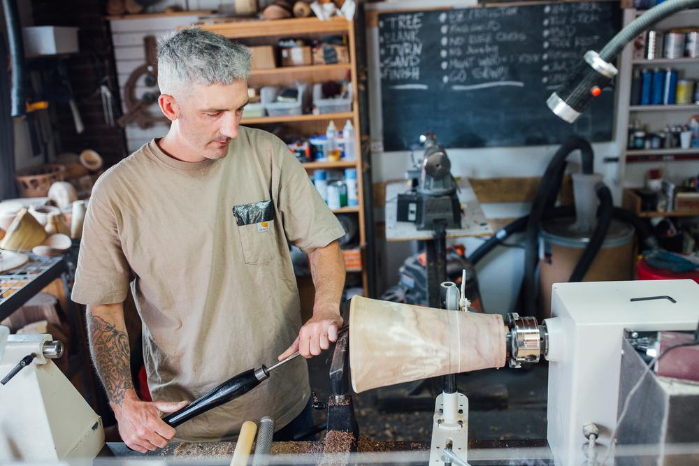 Boston Woodturning Artist Row Salem MA