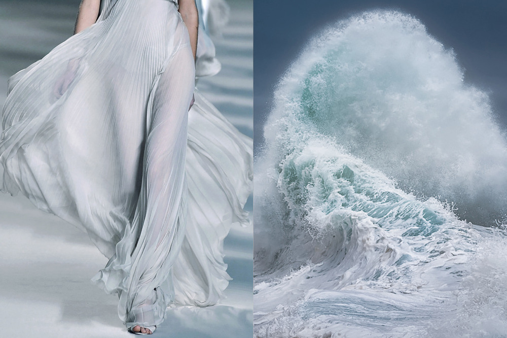 Match #344 Details at Chloé Spring 2010 | Rough Sea series (photo detail) by GIOVANNI ALLIEVI