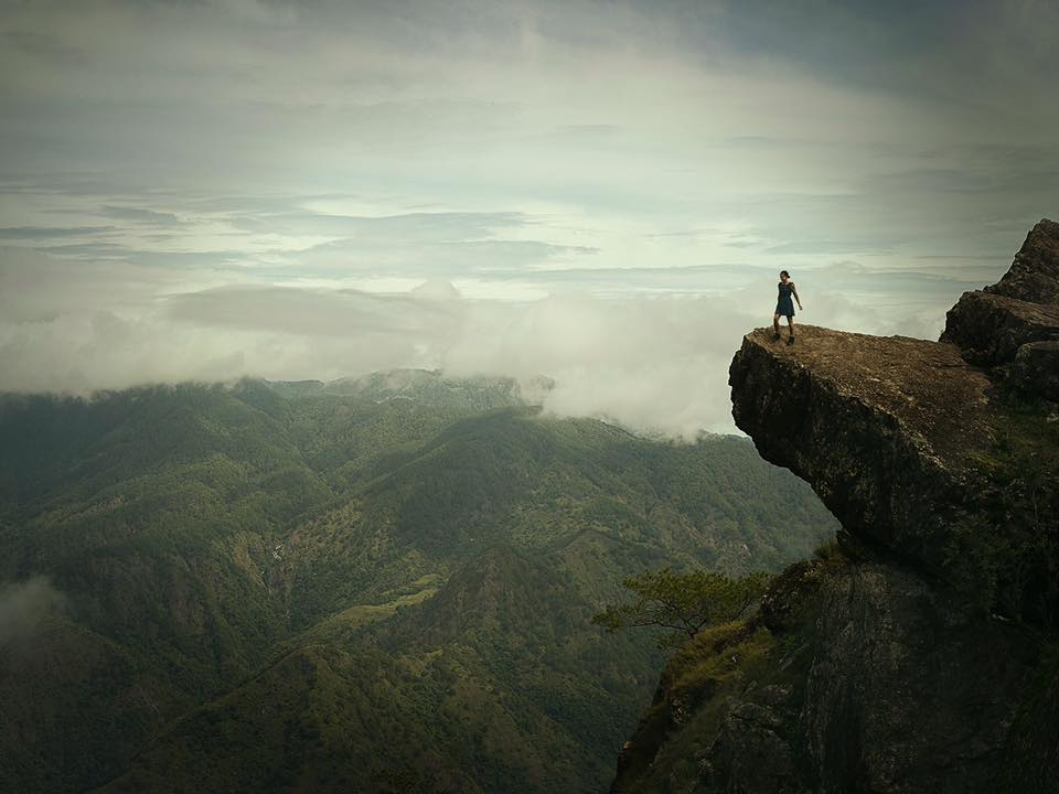 Not my best shot, but one of my favourites. It sums up the best year of my life, a year of travelling around the world to 22 countries, growing as a person, collecting incredible memories that I will take to my grave. This was shot at the top of a mountain in northern Philippines, the first mountain I've ever climbed. Reaching here I felt on top of the world. Pretty much the feeling I have had all year but in this photo this feeling is visualised.  This year has been unforgettable for my life. I have learnt that I no longer need a house and possessions to be truly happy. I'd sooner collect memories then digits in my bank account. I've witnessed true poverty with people living with so little but with the biggest smiles on their faces and this to me has been life changing. ...The world is my playground...I have been a free spirit for this a year, I've never been happier. -  Rebecca Lilith Bathory