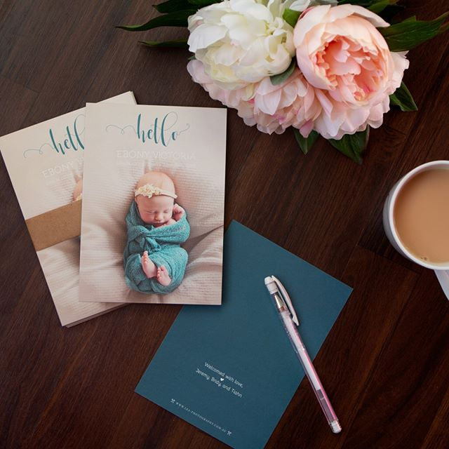 I'm loving the bamboo paper these thank-you cards are printed on.  How long did it take you to send out thank-you cards post baby?