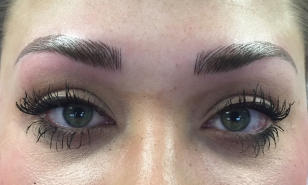 After by Real Brows® graduate by Karen Heitkamp