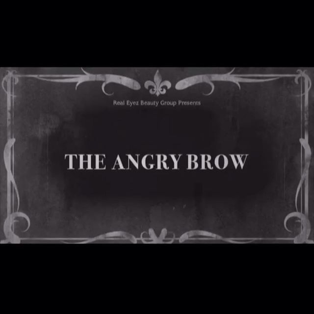 """Go check out our """"The Angry Brow"""" Short Film in our IGTV! 📽💜"""