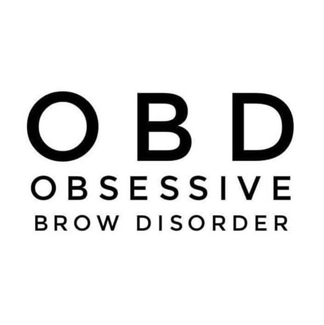 Who has this? 🙋‍♀️ #OBD #welovebrows #browaddict