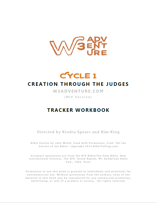Cycle 1 Tracker PDF (NIV) — W3 Adventure