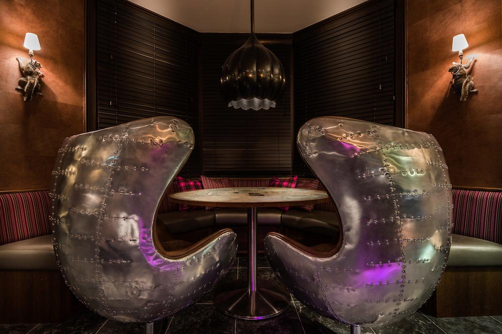bar George Street Edinburgh interior design