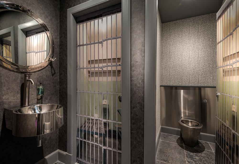 Jail toilet bathroom restaurant interior design