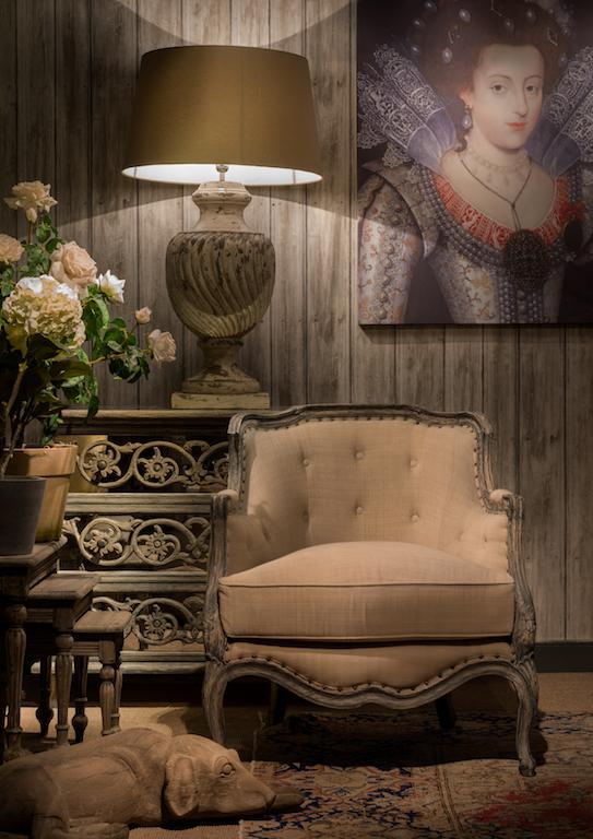 Victorian chair interior design Edinburgh