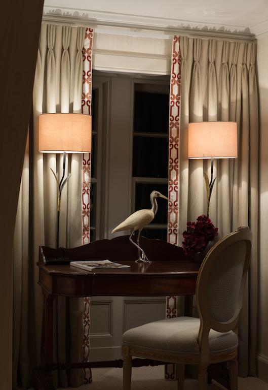 Wooden desk lamps interior design