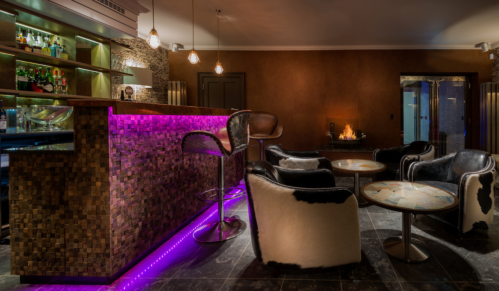 bar Edinburgh Queen Street interior design