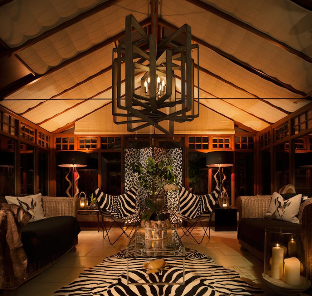 African conservatory interior design Scotland