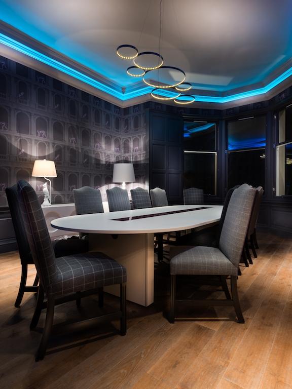 meeting room interior design Edinburgh Queen Street