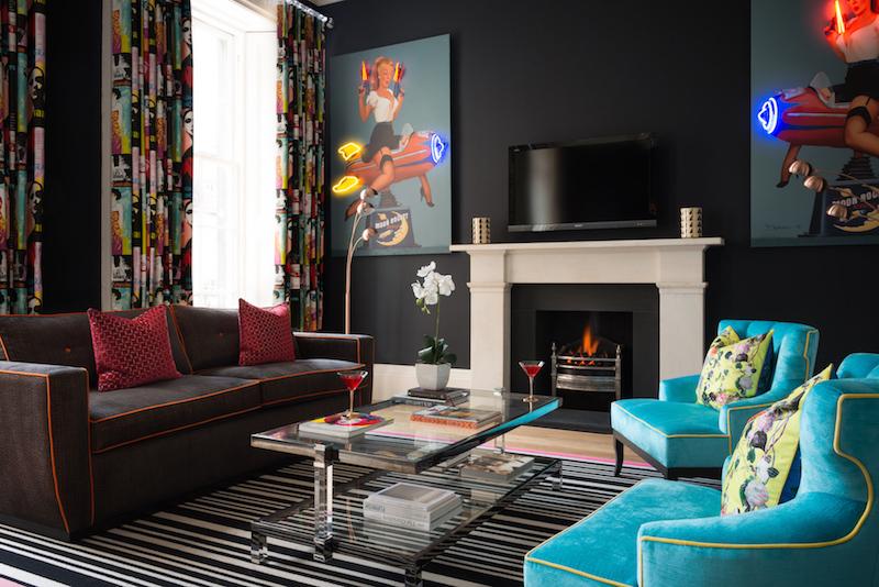 17 Rutland Apartments Edinburgh chic interior design